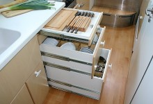 Mobile Home Kitchen Storage 1