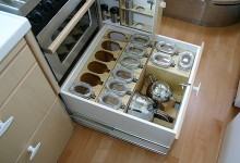 Mobile Home Kitchen Storage 2